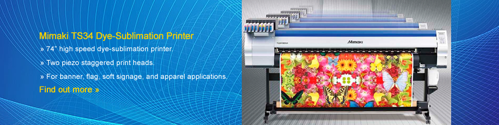 Mimaki TS34-1800A Sublimation Printer